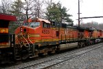 BNSF 4505 second on K044